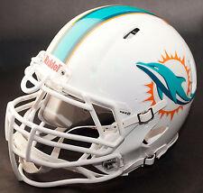 MIAMI DOLPHINS NFL Gameday REPLICA Football Helmet w/ S3BDU Facemask