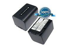 7.4 v Batería Para Sony HDR-UX5, dcr-sr88e, Hdr-tg1, Dcr-sx63e / S, Hdr-cx110r, Hdr -