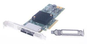 LSI SAS9207-8e 8-Port External HBA PCIe P20 IT Mode for ZFS FreeNAS BOTH BRACKET