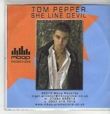 (CM950) Tom Pepper, She Line Devil - 2010 DJ CD