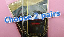 2 LACE Addi 100cm Circular Knitting Needles Turbo Knit