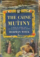 The Caine Mutiny Herman Wouk WWII Navy 1951 First Ed