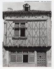 31 SAINT BERTRAND DE COMMINGES VIEILLE MAISON RENAISSANCE IMAGE 1971 OLD PRINT