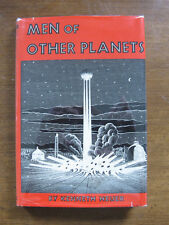 Signed - Men Of Other Planets Kenneth Heuer -1st 1951 Hcdj -vintage sci-fi alien