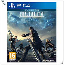 PS4 Final Fantasy 15 XV [R2] ENG SONY PLAYSTATION Enix RPG Games
