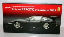 Véhicules miniatures noirs Kyosho pour Ferrari