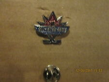 NHL Vancouver Canucks Vintage Circa 1998 All Star Game Logo Hockey Lapel Pin