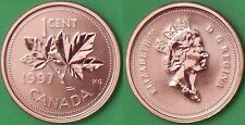 1997 Canada Penny Graded as Specimen From Original Set
