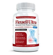 Flexacil Ultra Mejor Glucosamina Condroitina MSM Con Ácido Hialurónico Suplemento