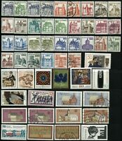 GERMANY Deutsche BundesPost Stamps Postage Collection 1977-1991 Used Mint LH
