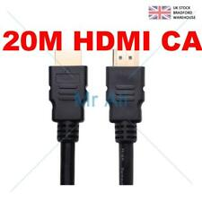 20M METRE V1.4 GOLD HDMI CABLE LEAD 3D HD DVD LED SENT TODAY