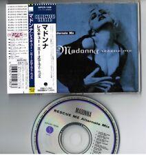 "MADONNA Rescue Me Alternate Mix JAPAN 5"" CD Collectors Series WPCR-1508 w/OBI"