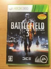 FREE SHIPPING XBOX 360  JAPAN BATTLE FIELD 3