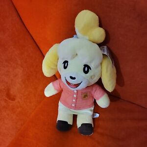 Build A Bear Animal Crossing Isabelle Summer Gift Bundle with Phrases !