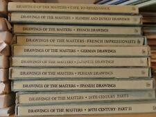 Drawings of the Masters 10 Book Lot