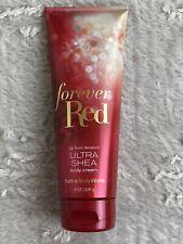 3 Bath & Body Works Forever Red Ultra Shea Body Cream 2018 Release 8 oz 226 ml