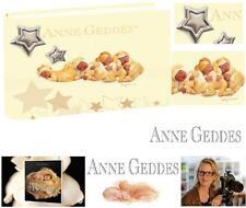 ANNE GEDDES CERTIFICATA ALBUM PORTAFOTO Cm.20x15H ECOPELLE e ARGENTO 925% AG500G