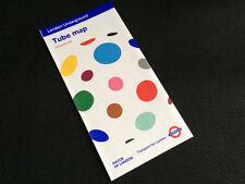 London Underground pocket tube map - December 2011. Yayoi Kusama.