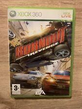 Burnout Revenge-Xbox 360, un, Série X S BC-complet très bon état