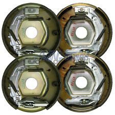 2 Pairs of 203x40mm Knott Trailer Brake Backplate Assemblies Trailer Brake Parts