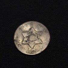 1851 Three Cent Silver - US 3c 1851