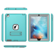 Shockproof Military Heavy Duty Rubber With Hard Stand Case Cover For iPad 2 3 4