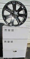 "20"" NEW GMC YUKON SIERRA FACTORY STYLE GUNMETAL WHEELS RIMS 5660 SET OF 4"