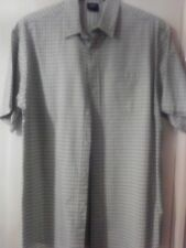 COTTON TRADERS  CHECKED MANS  SHIRTS - LARGE
