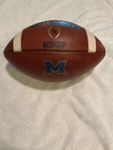 Michigan Wolverines Game Used Football