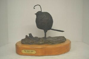 Forrest Tuttle Signed Bronze Sculpture The Troon Bird