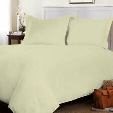 PURE 100% Brushed Cotton Flannel Bedding,Soft Duvet Cover Set (180GSM) ALL SIZES