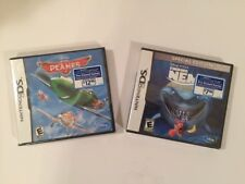 Finding Nemo And Planes Lot Nintendo DS Games