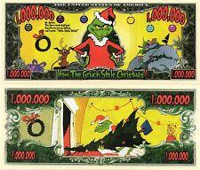 How the Grinch Stole Christmas - Dr. Seuss Movie Million Dollar Novelty Money