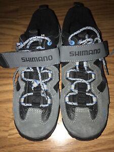 Shimano SH-MT44G Mountain Bike Cycling Shoes Mens US Size 8 Eur 42