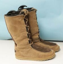 UGG AUSTRAILIA 5278 WHITLEY WOMENS CHESTNUT SUEDE/SHEEPSKIN WINTER BOOTS SZ 6