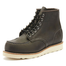 Red Wing Shoes Classic Moc Toe Charcoal Mens Boots Casual Winter Shoes