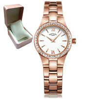 Rotary LB03907/01 Ladies' Rose Gold Plated Bracelet Watch Grab a Bargain RRP£100