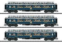 """Trix H0 23220 CIWL Schnellzugwagen-Set 2 """"Simplon-Orient-Express"""" - NEU + OVP"""