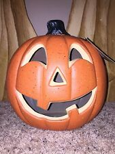 "New Halloween 10"" Jack-O-Lantern Foam Pumpkin Lighted Table Decoration"