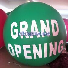 GRAND OPENING 7ft GREEN Advertising Round Air or Helium Balloon Ball SPHERE