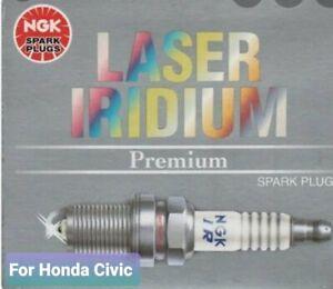 NGK IZFR6K-11S  x 4 Laser Iridium Spark Plugs for Honda Civic