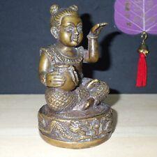 Guman Thong Statue female Child Kumari Call Money Thai Amulet Good Business #2