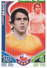 CLAUDIO BRAVO # CHILE CARD CARTE MATCH ATTAX STARS MONDIALE 2010 TOPPS O