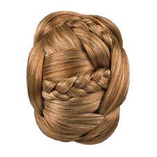 Estensione capelli intrecciati CHIGNON clip in CHIGNON Jessica Simpson Hairdo Rosso Bionda