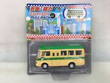 Die Cast metal pull back action Hong Kong Transportation Mini Bus