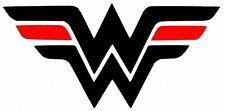Thin Red line Wonder Woman Decal For Car Truck Sticker Vinyl Fire EMS