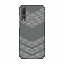 AMZER Carbon Fibre Stone Gray 2 Hard Plastic Cover Slim Printed Snap On Case
