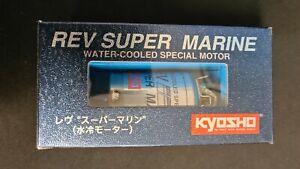 Kyosho REV SUPER MARINE Special Motor Vintage Rarität OVP