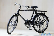 For 1/6 Figure Scene Accessories Black B Bike/Bicycle Model Wheel Movable Mini