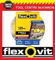 """FLEXOVIT 5"""" / 125mm SEGMENTED RIM DIAMOND WHEEL / BLADE FOR TILES & BRICKS ETC"""